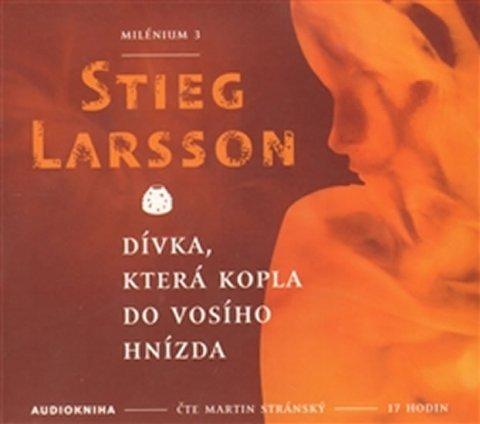 Larsson Stieg: Dívka, která kopla do vosího hnízda - Milénium 3 - 2CDmp3