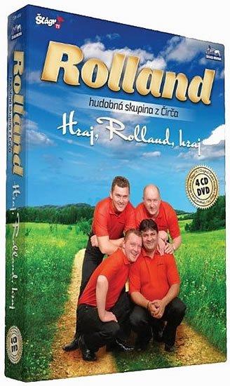 neuveden: Rolland - Hraj,Rolland,hraj - 4CD+1DVD