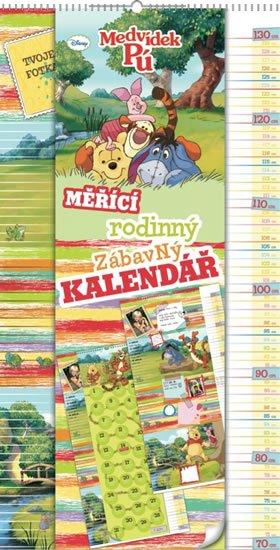 neuveden: Kalendář - W. Disney Medvídek Pú - měřící kalendář - nedatovaný
