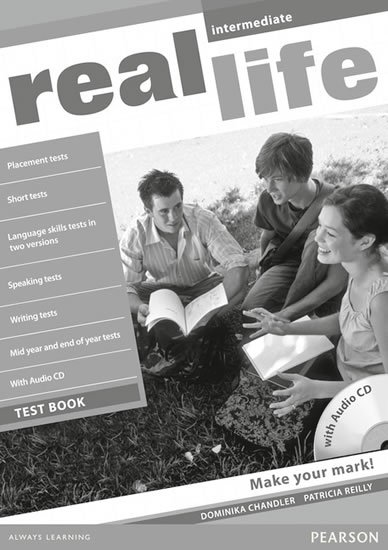 Reilly Patricia: Real Life Intermediate Test Book/Test Audio CD Pack