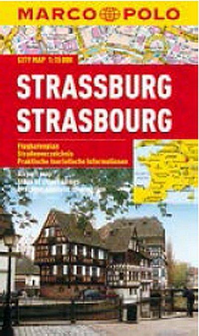 neuveden: Strassburg/Strasbourg - City Map 1:15000