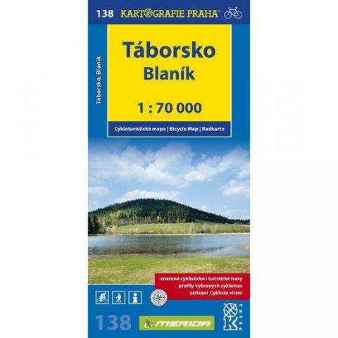 neuveden: 1: 70T(138)-Táborsko, Blaník (cyklomapa)