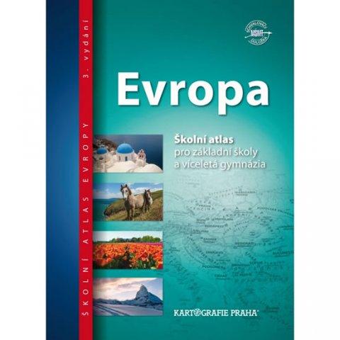 neuveden: Evropa - Školní atlas pro základní školy a víceletá gymnázia
