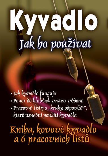 Penmann Susanne: Kyvadlo - Jak ho používat (kniha, kovové kyvadlo a 6 pracovních kruhů)