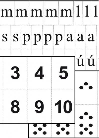 neuveden: Sada Skládací abeceda, značky a číslice