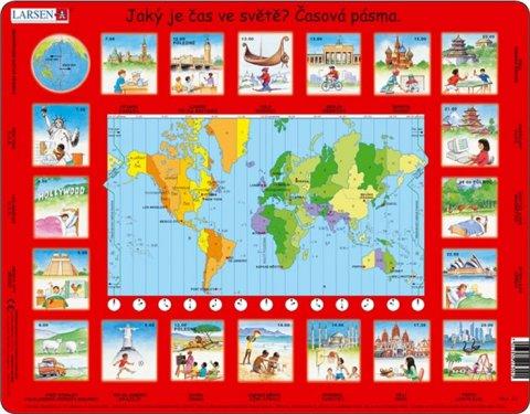 neuveden: Puzzle MAXI - Čas ve světě/35 dílků