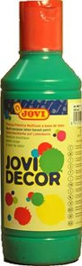 neuveden: JOVI Decor akrylová barva - tmavě zelená 250 ml