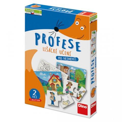 neuveden: Profese -Lišácké učení : Naučná hra
