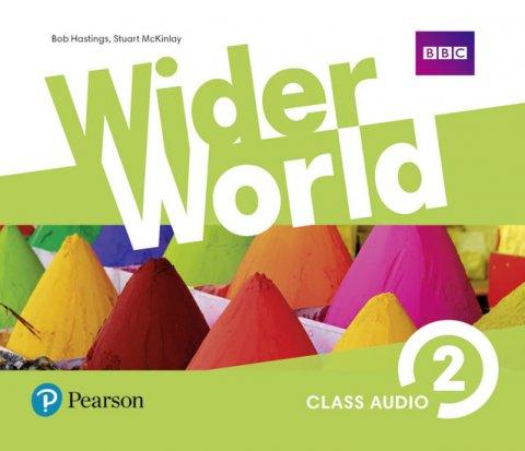 neuveden: Wider World 2 Class Audio CDs