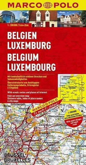 neuveden: Belgie/Lucembursko/mapa 1: