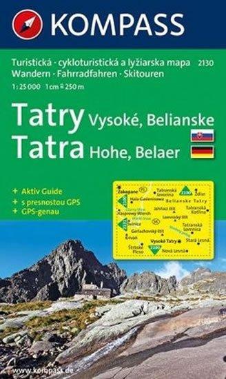 neuveden: Vysoké Tatry, Belianske  2130  NKOM 1:25T