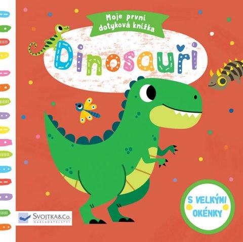 Americo Tiago: Dinosauři - Moje první dotyková knížka