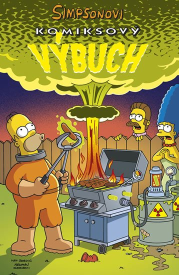 Groening Matt: Simpsonovi  - Komiksový výbuch