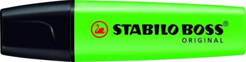 neuveden: Zvýrazňovač STABILO BOSS ORIDINAL zelený