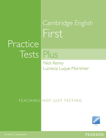 Kenny Nick: Practice Tests Plus Cambridge English First 2008 w/ CD-ROM Pack (no key)
