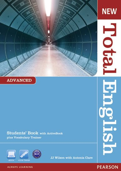 Clare Antonia: New Total English Advanced Students´ Book w/ Active Book Pack