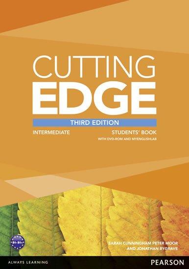 Cunningham Sarah: Cutting Edge 3rd Edition Intermediate Students´ Book w/ DVD & MyEnglishLab