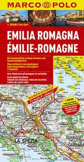 neuveden: Itálie č.6-Emilia Romagna/mapa 1:200T MD