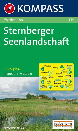 neuveden: Sternberger Seenlandschaft 856 / 1:50T NKOM