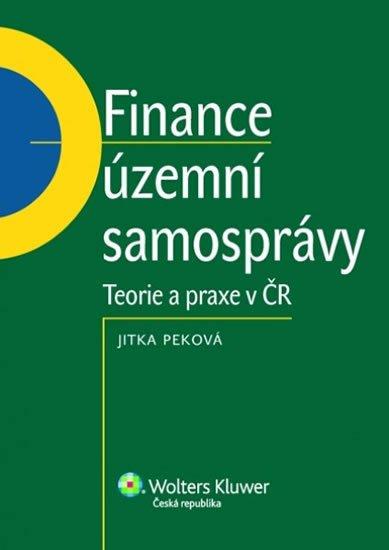Peková Jitka: Finance územní samosprávy