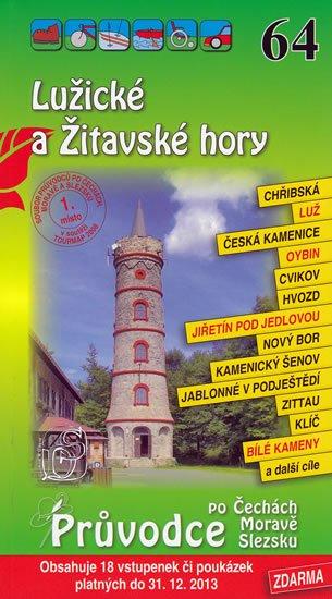 neuveden: Lužické a Žitavské hory 64. - Průvodce po Č,M,S + volné vstupenky a poukázk
