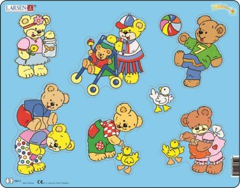 neuveden: Puzzle MAXI - Medvídek Teddy/10 dílků