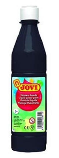 neuveden: JOVI temperová barva 500ml v lahvi černá