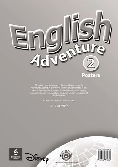 Worrall Anne: English Adventure 2 Posters