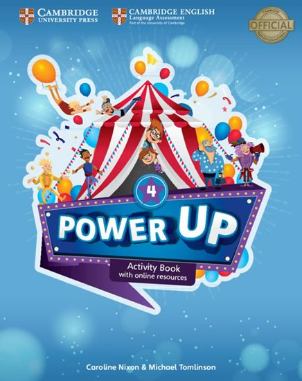 Nixon Caroline: Power Up Level 4 Activity Book with Online Resources and Home Booklet