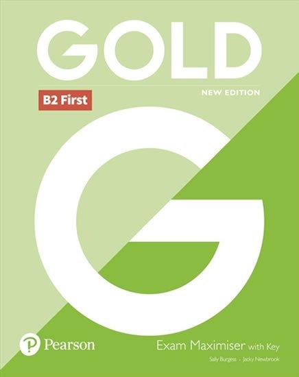 Burgess Sally, Newbrook Jacky: Gold B2 First 2018 Exam Maximiser w/ key