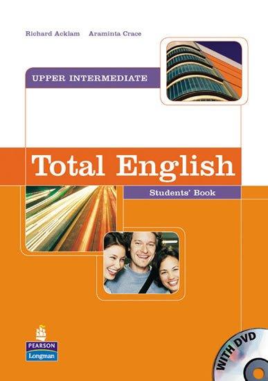 Acklam Richard: Total English Upper Intermediate Students´ Book w/ DVD Pack
