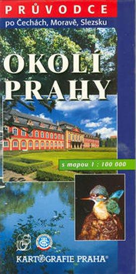 kolektiv: Okolí Prahy s mapou 1:100 000