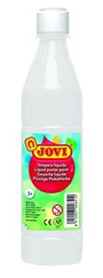 neuveden: JOVI temperová barva 500ml v lahvi bílá