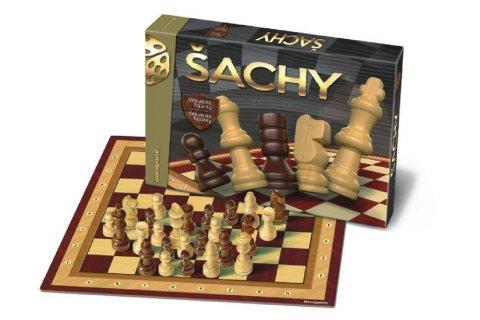 neuveden: Společenská hra - Šachy dřevěné