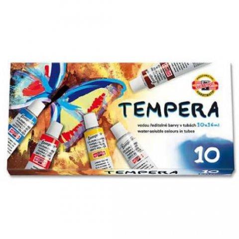 neuveden: Koh-i-noor barvy temperové/tempery sada 10 x16 ml - Motýl