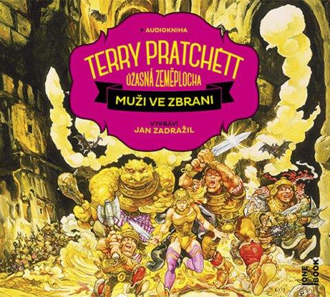Pratchett Terry: Muži ve zbrani - 2 CDmp3 (Čte Jan Zadražil)