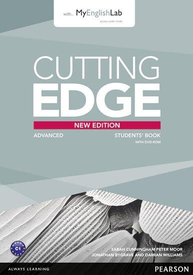 Cunningham Sarah: Cutting Edge 3rd Edition Advanced Students´ Book w/ DVD & MyEnglishLab Pack