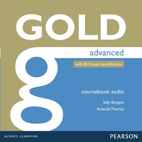 Burgess Sally, Thomas Amanda: Gold Advanced 2015 Class Audio CDs