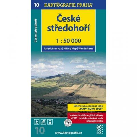 neuveden: 1: 50T (10)-České středohoří  (turistická mapa)