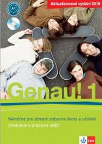 neuveden: Genau! 1 2018 (A1) – učebnice s pracovním sešitem + Beruf