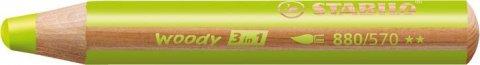 neuveden: Pastelka STABILO Woody 3v1 zelená světlá