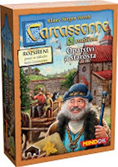 Wrede Klaus-Jürgen: Carcassonne: Rozšíření 5: Opatství a starosta