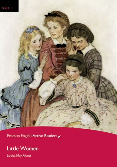 Alcottová Louisa May: PEAR | Level 1: Little Women Bk/Multi-ROM with MP3 Pack