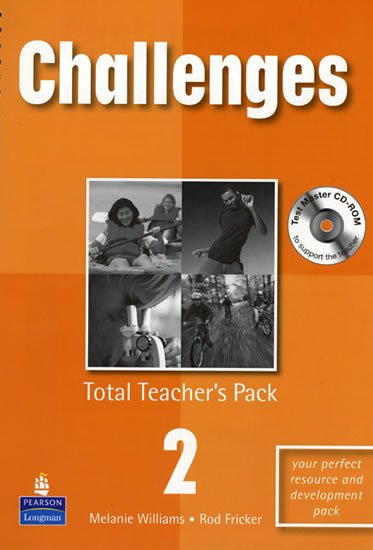 Williams Melanie: Challenges Total Teacher´s Pack 2 w/ Test Master CD-ROM Pack