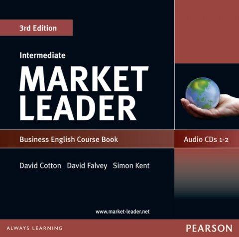 Cotton David: Market Leader 3rd edition Intermediate Coursebook Audio CD (2)