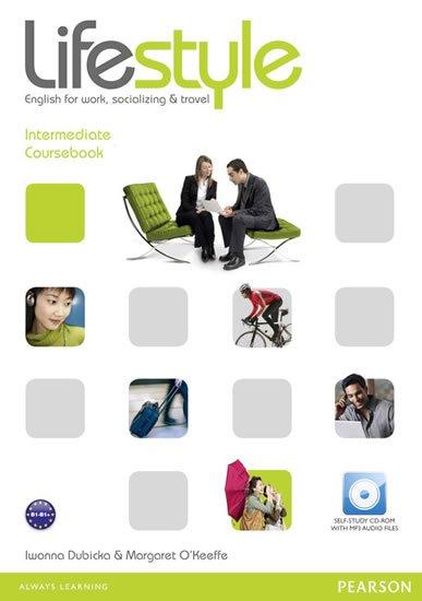 Dubicka Iwona: Lifestyle Intermediate Coursebook w/ CD-ROM Pack