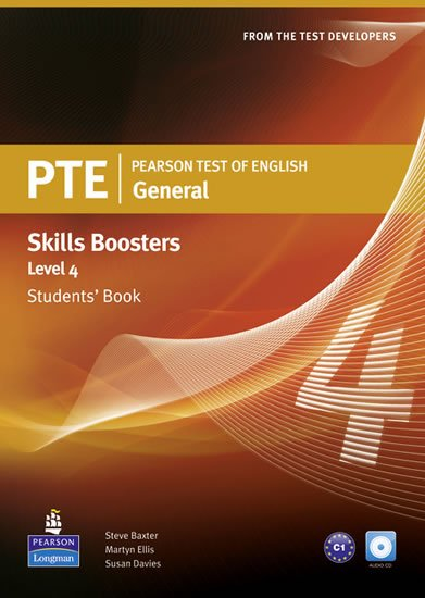 Davies Susan: Pearson Test of English General Skills Booster 4 Students´ Book w/ CD Pack
