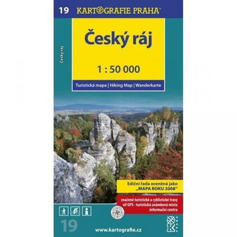 neuveden: 1: 50T (19)-Český ráj (turistická mapa)
