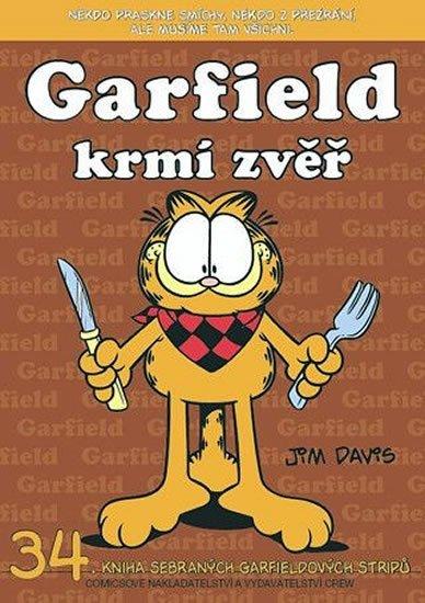 Davis Jim: Garfield krmí zvěř (č.34)