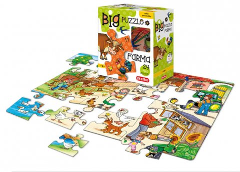 neuveden: BIG Puzzle - Farma/BABY